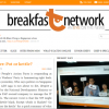 The launch of the Breakfast Network