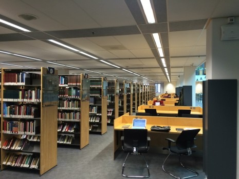 The Maastricht University library.